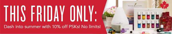 This Friday PSK 10 percent off - Can & USA
